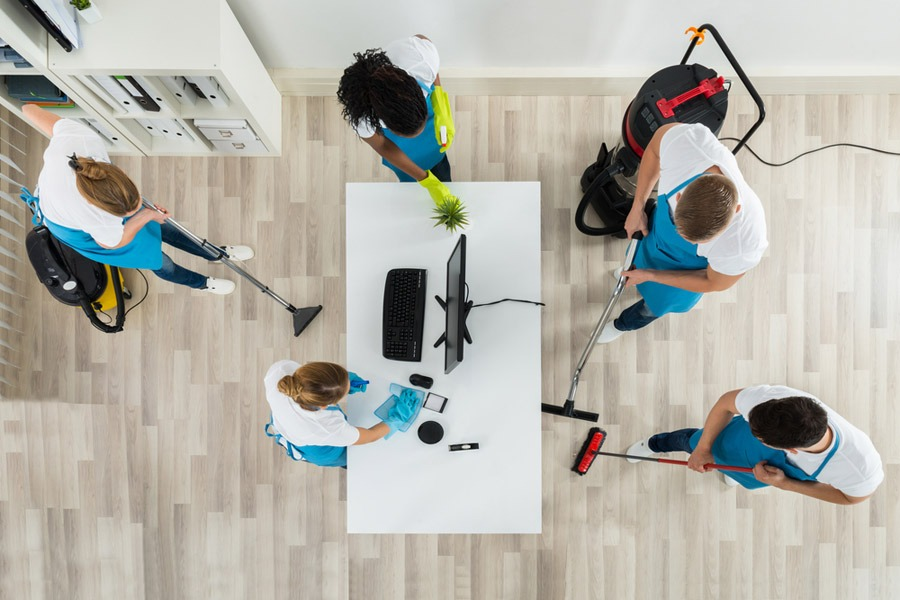 commercial cleaning services APC Services